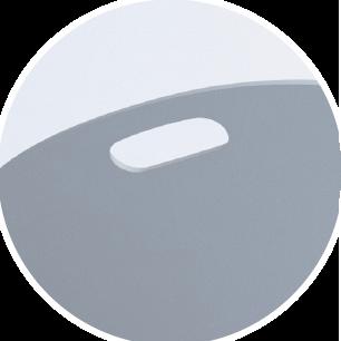 LitterLocker Cat Litter Mat Integrated practical handles