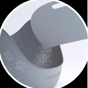 Tapis à litière pour chat LitterLocker Facile à vider