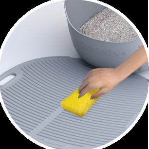 Tapis à litière pour chat LitterLocker Facile à nettoyer