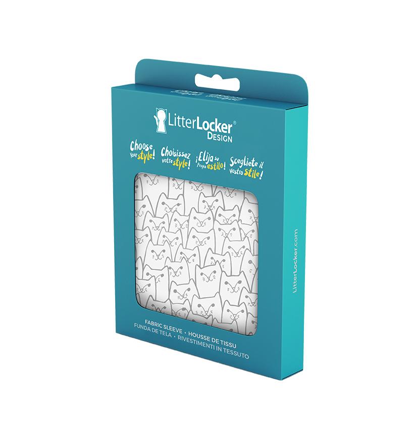 Housse de tissu LitterLocker Design pack