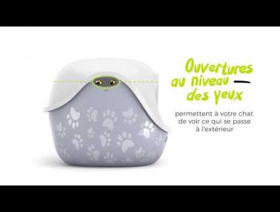 Embedded thumbnail for Dôme pour Bac à litière LitterLocker