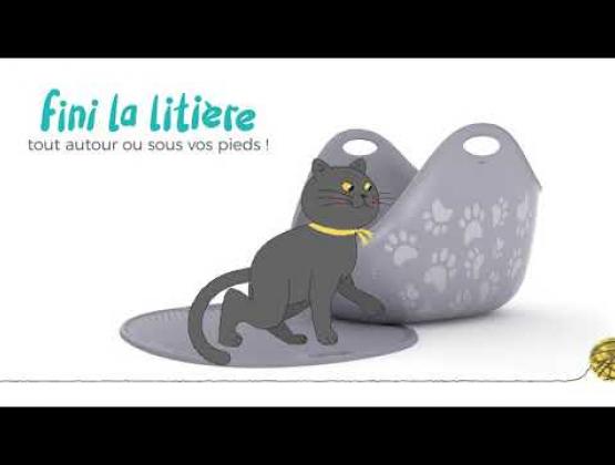 Embedded thumbnail for Tapis à litière de LitterLocker